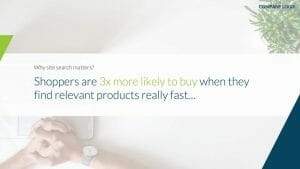 shoppers more likely to buy relevant products