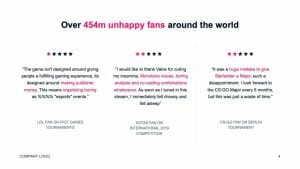 happy fans quotes in esports and gaming