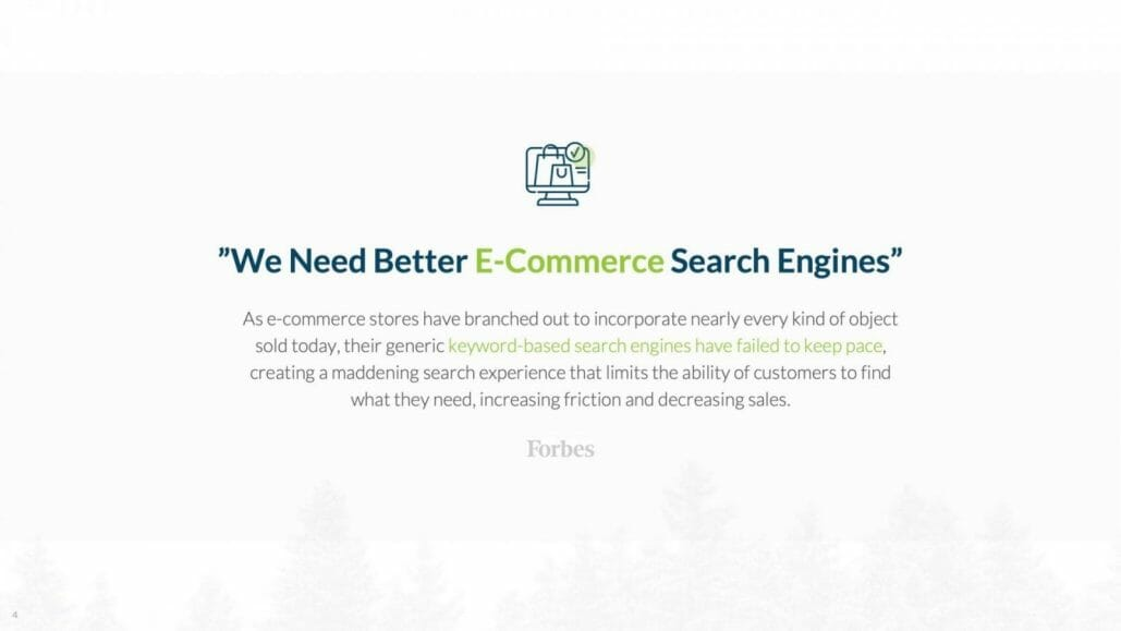 better e-commerce search engines