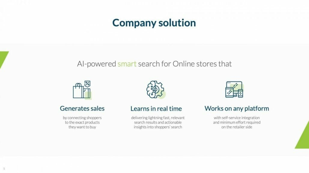 ai search generate sales and learns in real time